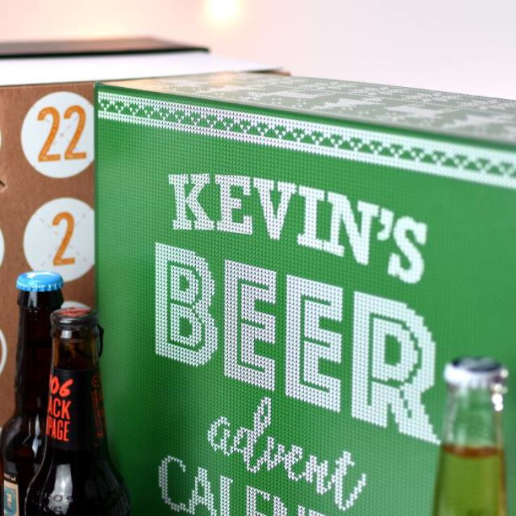 Personalised Beer Advent Calendar product image