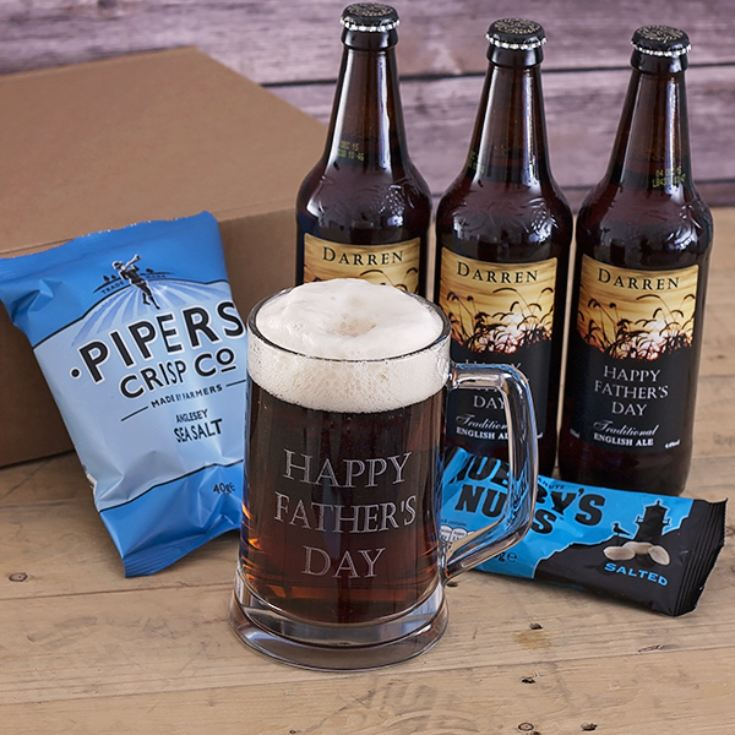 Personalised Ultimate Pub in a Box – Craft Cardboard Gift Box Hamper product image