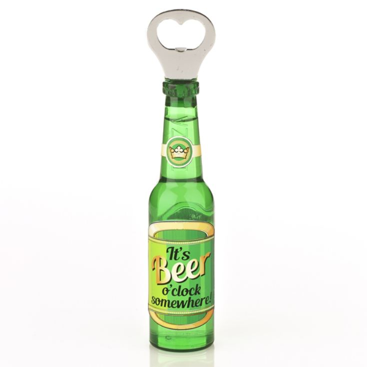 Beer Bottle Opener - It's Beer O'Clock product image