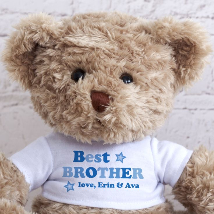 Personalised Best Brother Teddy Bear product image