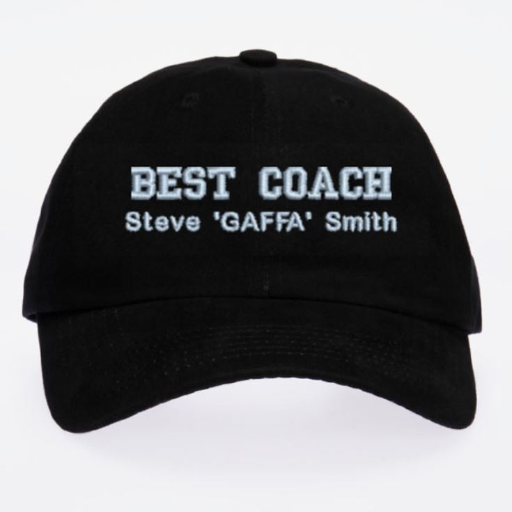 Personalised Embroidered Baseball Cap product image