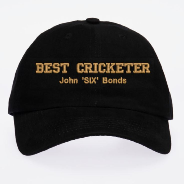 Personalised Embroidered Cricket Cap product image