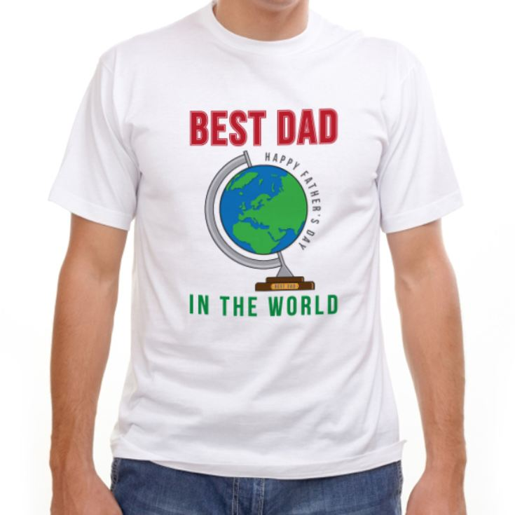 Best Dad In The World T-Shirt product image