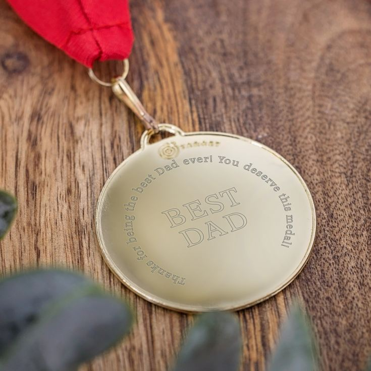 Best Dad Medal product image