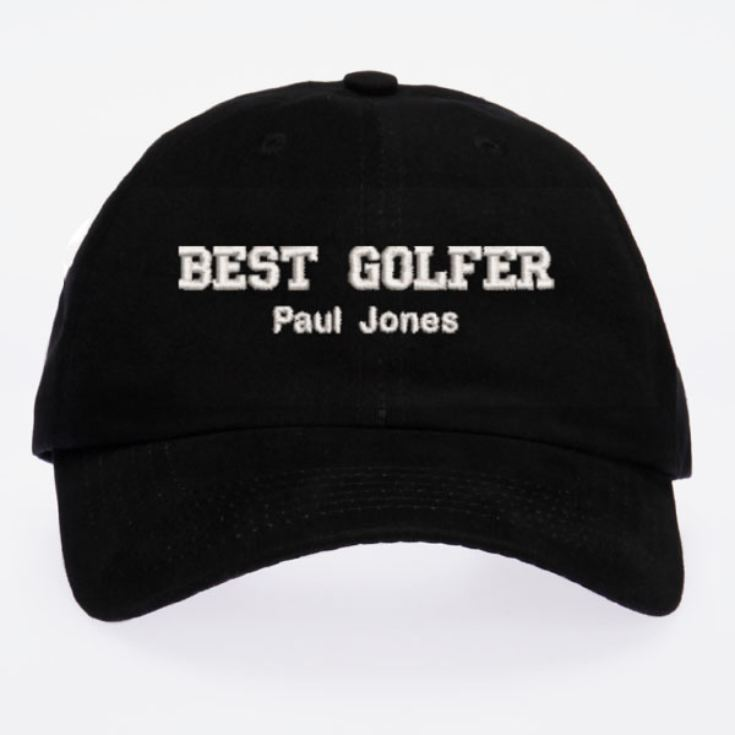 Personalised Embroidered Golfer Cap product image