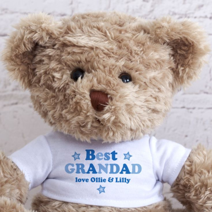 Personalised Grandad/Grandpa/Pops Teddy Bear product image