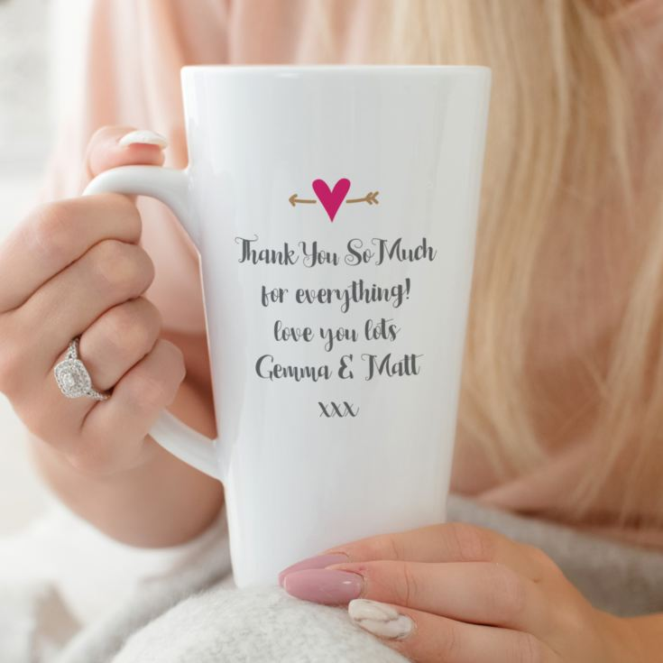 Personalised Mother Of The Groom Latte Mug product image