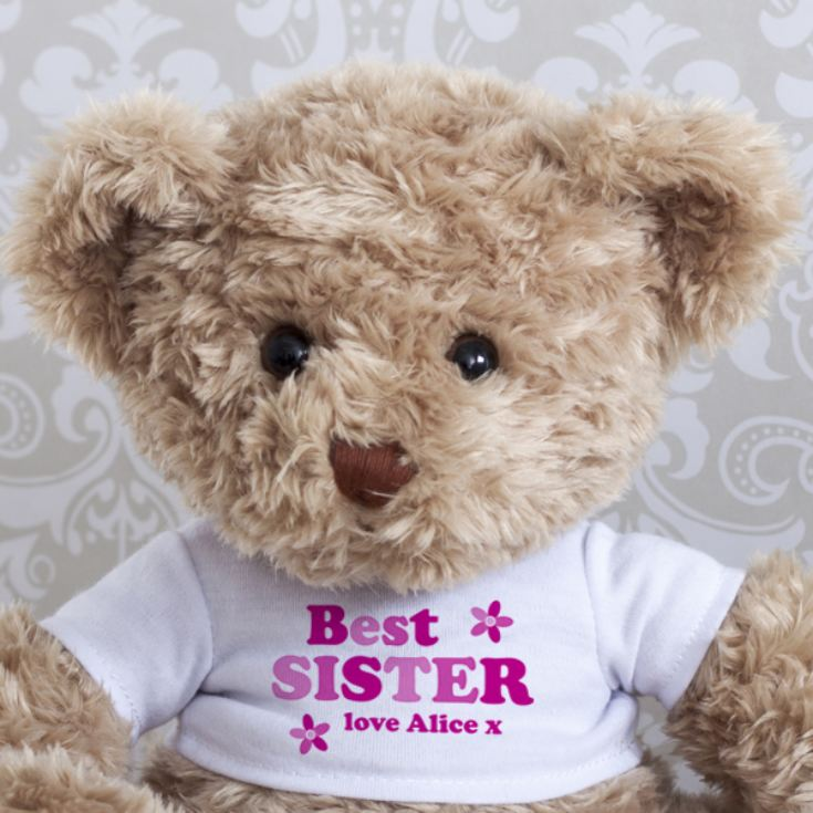 Personalised Sister Teddy Bear product image