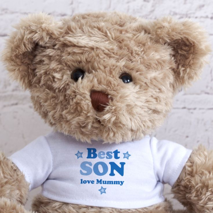 Personalised Best Son Teddy Bear product image