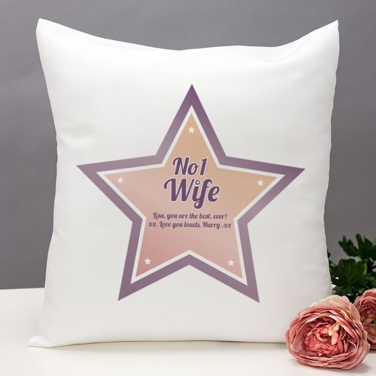 Best Wife Personalised Cushion product image
