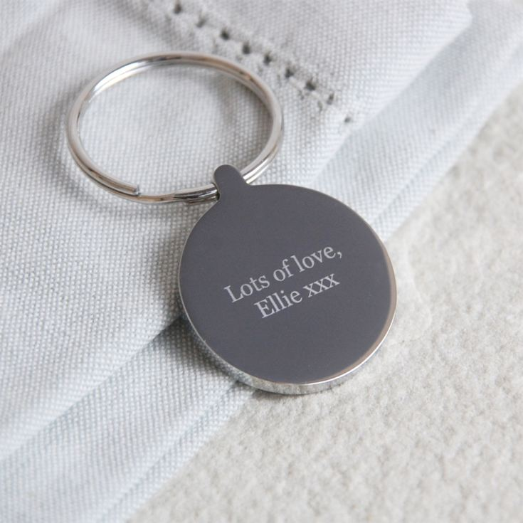 Personalised Bestest Grandma Ever Keyring product image