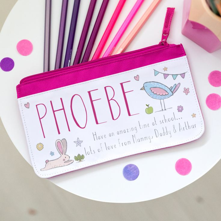 Personalised Pencil Case - Nature Design product image
