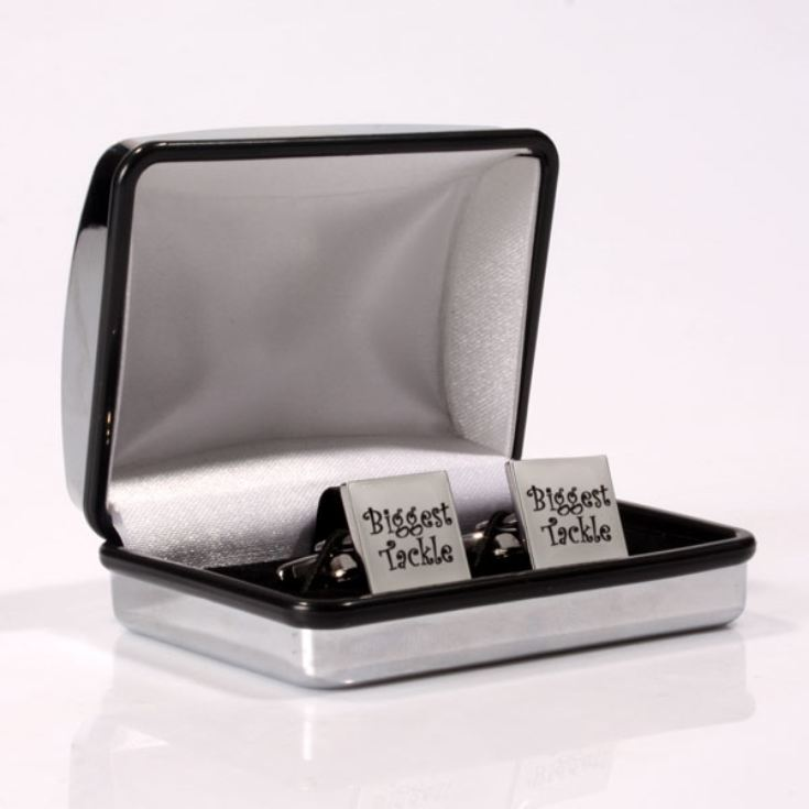 Biggest Tackle Personalised Cufflinks product image