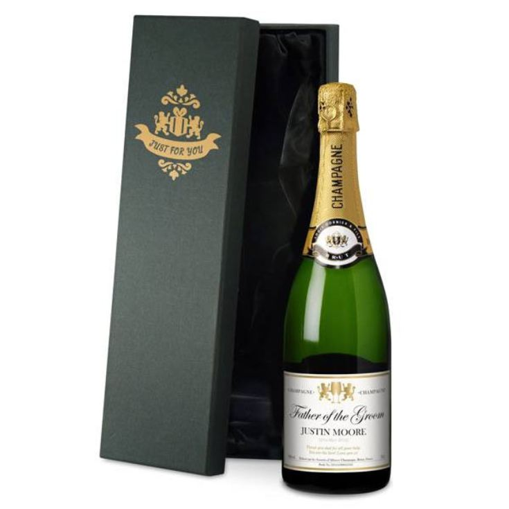 Personalised Champagne product image