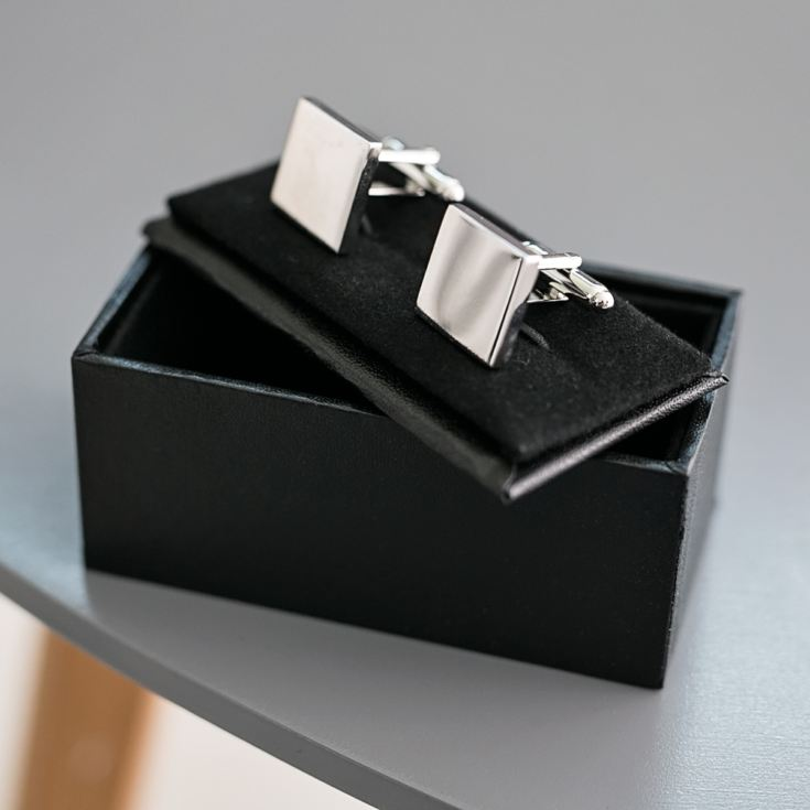 Personalised Silver Plated Page Boy Cufflinks product image