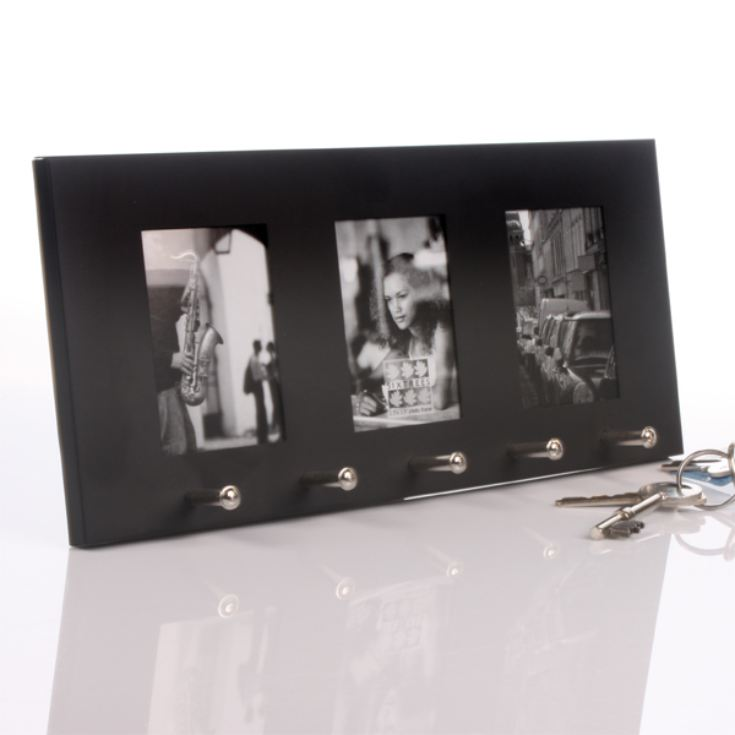 Personalised Key Holder and Triple Photo Frame product image