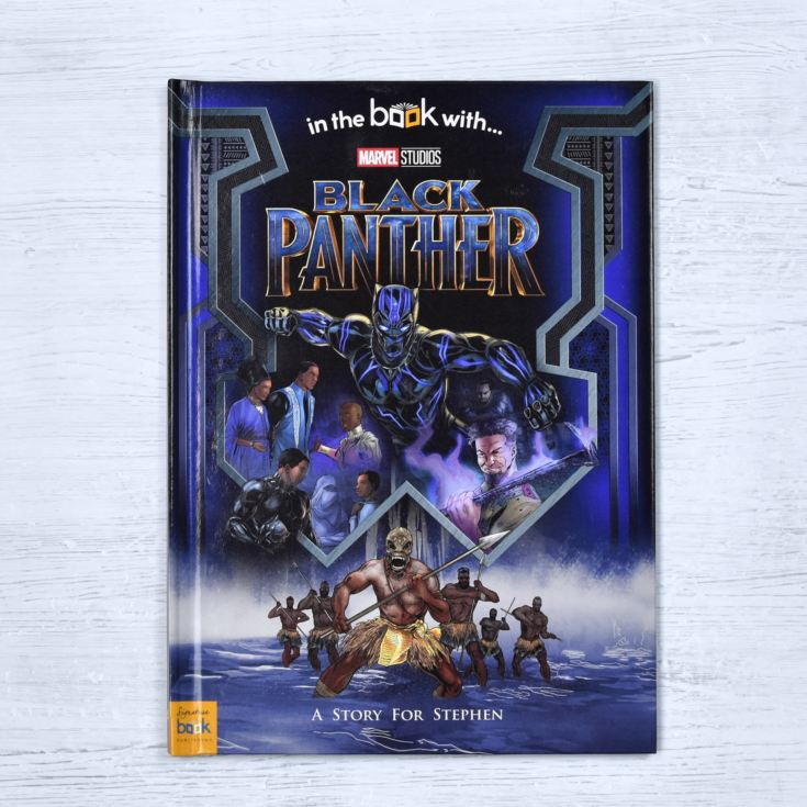 Black Panther Personalised Marvel Story Book product image
