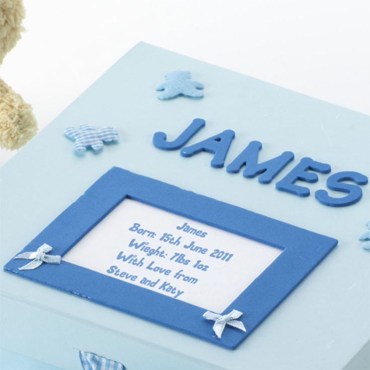 Personalised Naming Day Memory Box product image