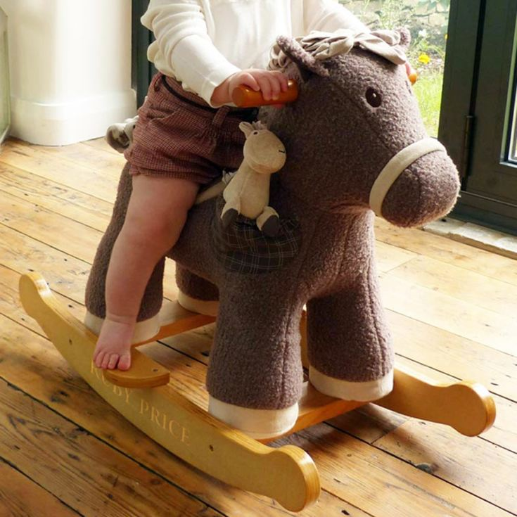Personalised Bobble & Pip Rocking Horse product image