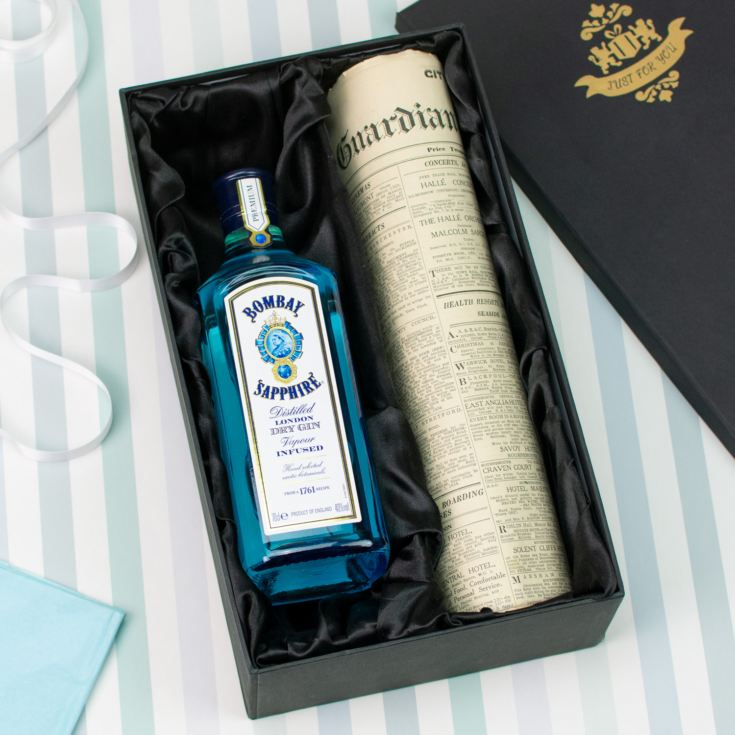 Bombay Sapphire Gin and Original Newspaper product image