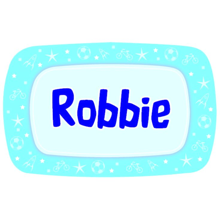 Personalised Boys Name Lunch Box product image