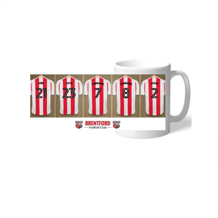 Personalised Brentford FC Dressing Room Mug product image