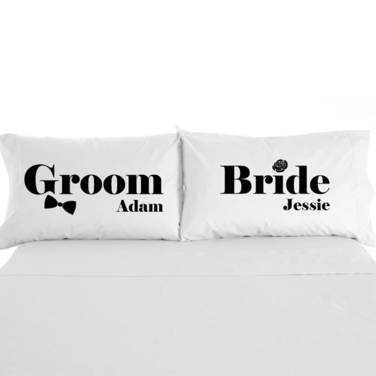 Bride & Groom Pillowcases product image