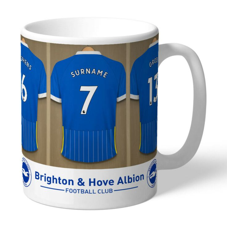 Personalised Brighton & Hove Albion FC Dressing Room Mug product image