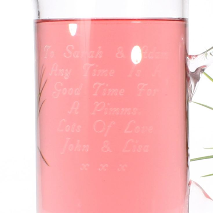 Personalised Bubble Base Jug product image