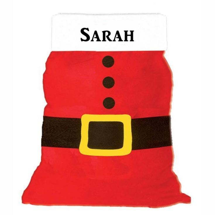 Personalised Santa Sack With Buckle product image