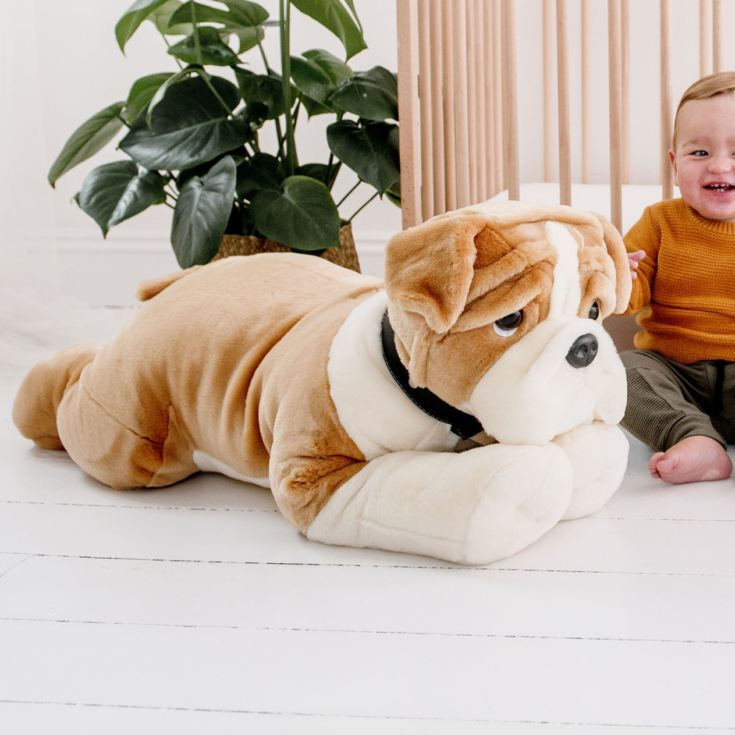 Giant Bulldog Soft Toy product image