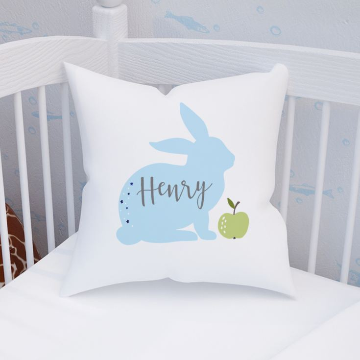 Personalised Bunny Rabbit Children's Cushion product image
