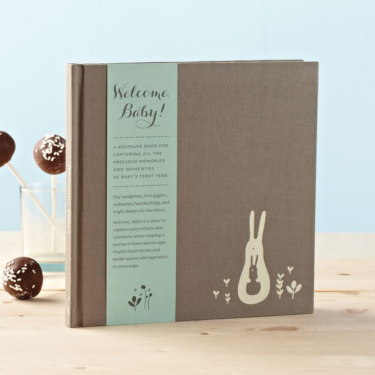 Compendium Welcome Baby Keepsake Journal product image