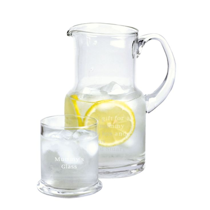 Personalised Carafe and Tumbler Set product image