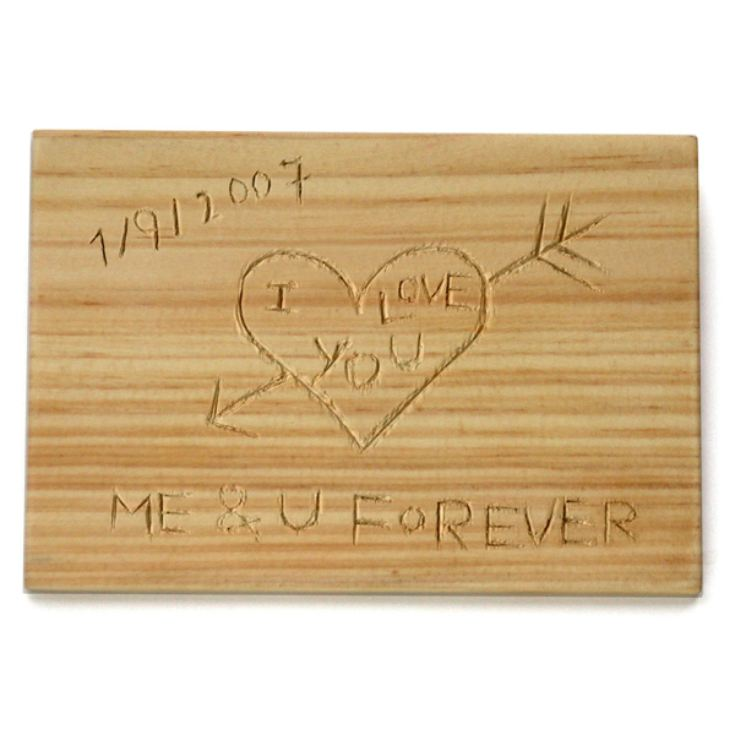 Carve Your Own Message Postcard product image