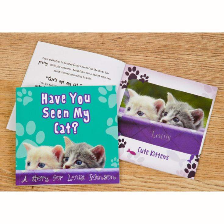 Personalised Children's Book - Have You Seen My Cat? product image