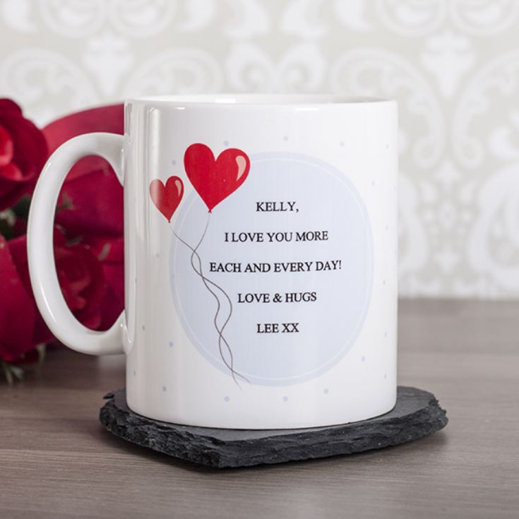 Personalised Catch Your Heart Mug product image