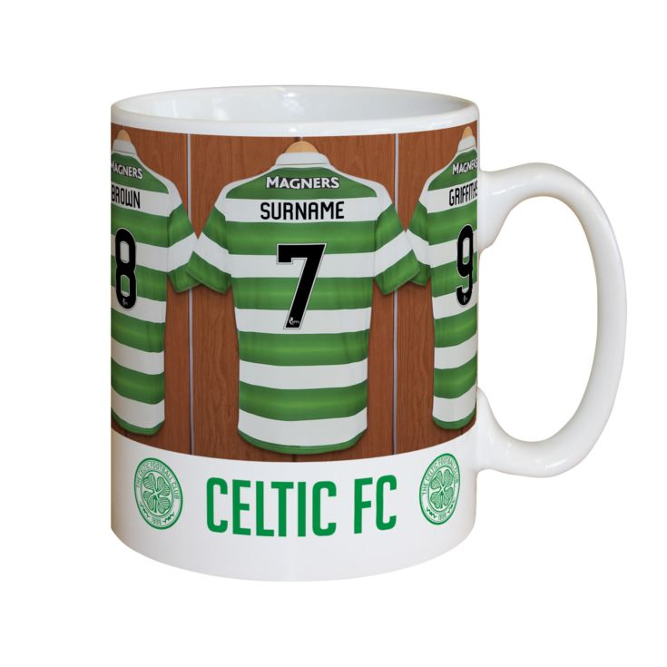 Personalised Celtic Dressing Room Mug product image