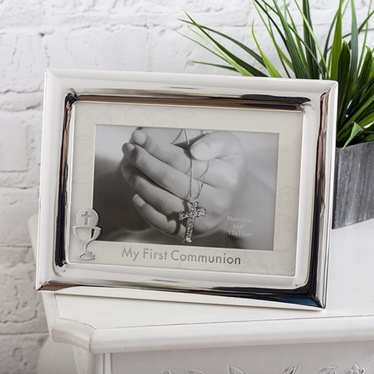 Personalised My First Communion Frame With Mount And Icon product image
