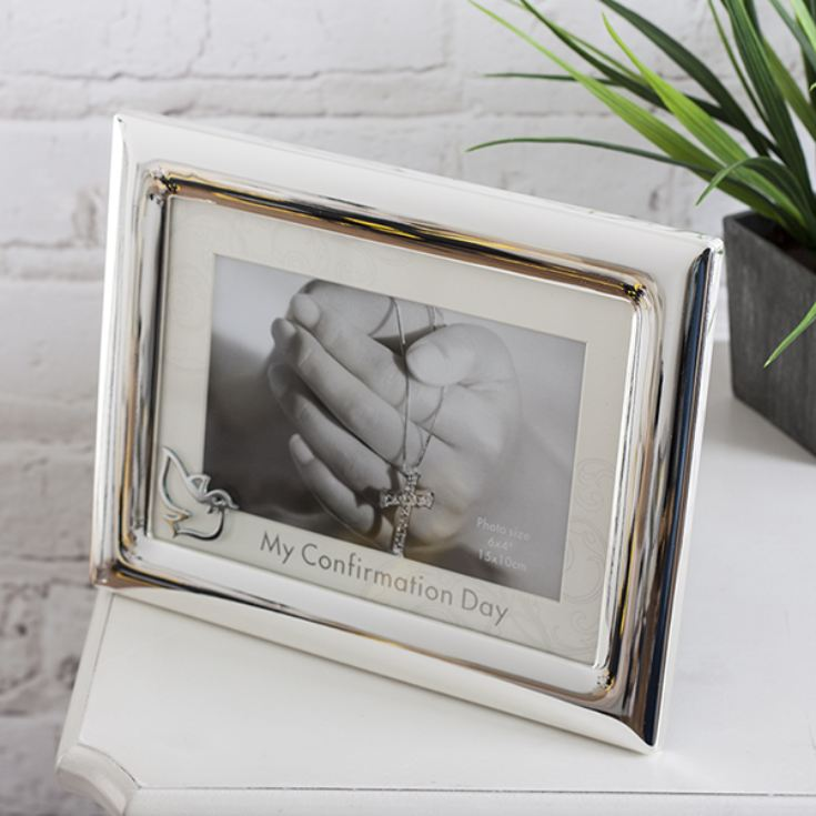 Personalised Confirmation Frame With Mount And Icon product image