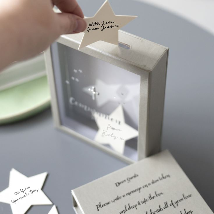 Communion Token Box With 30 Star Shaped Message Cards product image