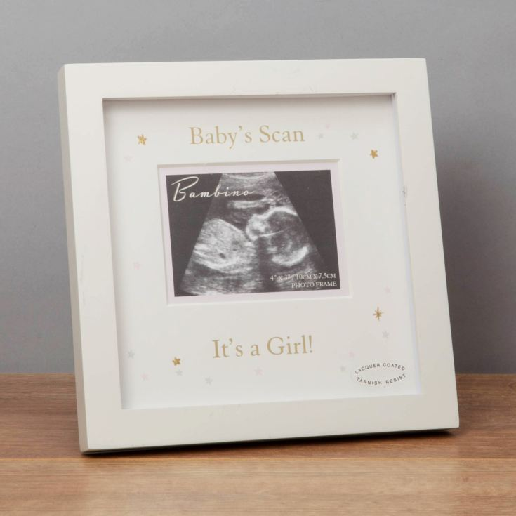 Bambino It's A Girl Scan Photo Frame product image