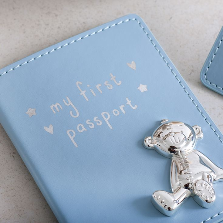 My First Passport And Luggage Tag Set Blue product image