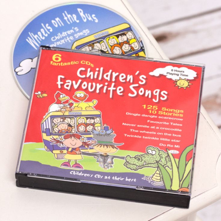 Childrens Favourite Songs – 6 CD pack product image
