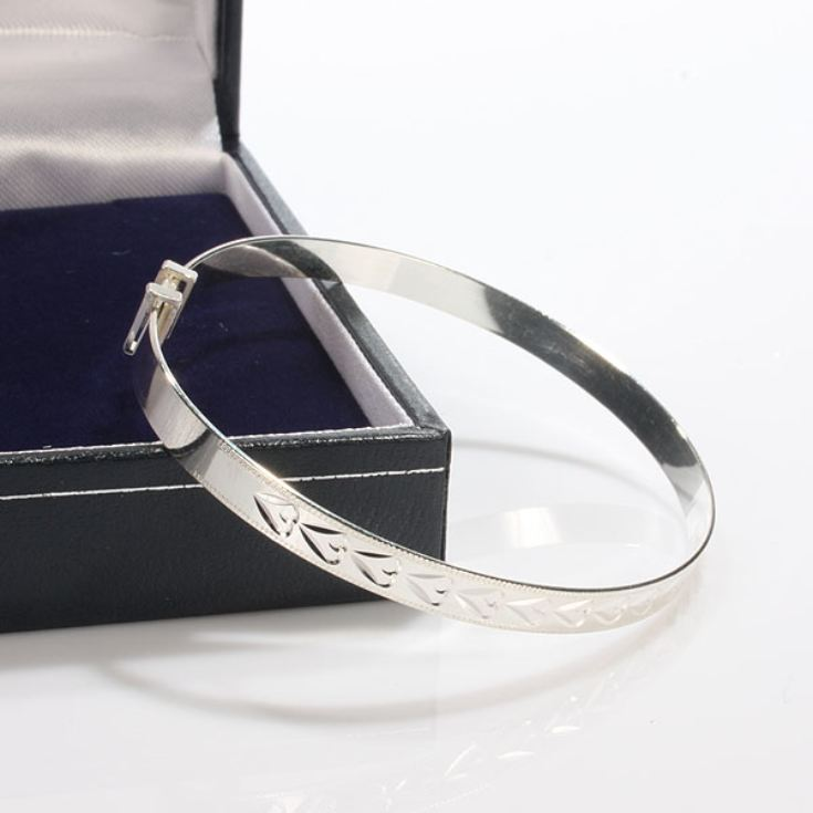 Childs Adjustable Bracelet With Personalised Box product image