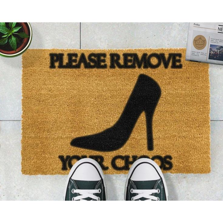 Please Remove Your Choos Doormat product image