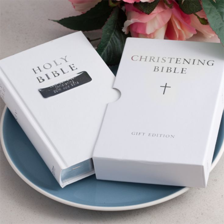 Personalised Christening Bible product image