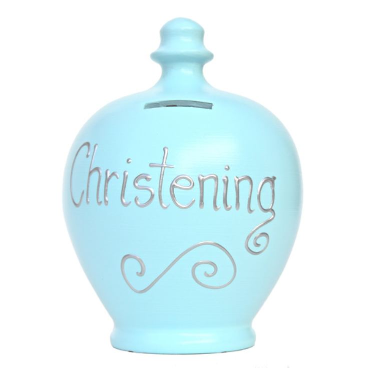 Personalised Christening Terramundi Money Pot product image