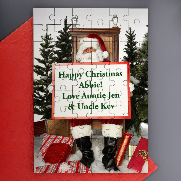 Christmas Message On a Jigsaw product image
