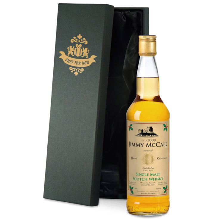 Personalised Christmas Malt Whisky product image